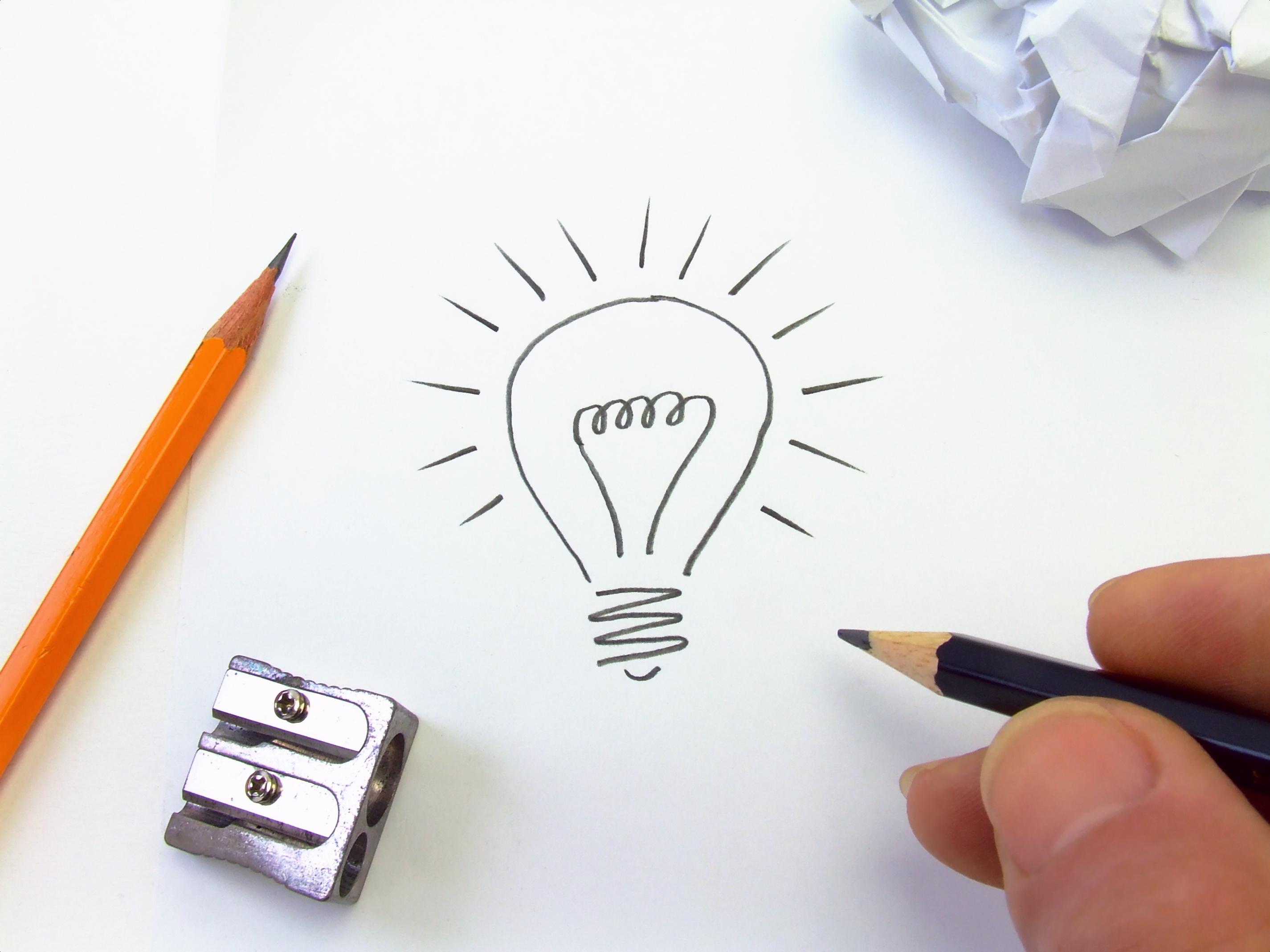 passo 1 - criatividade